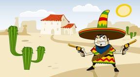 Mexicano louco Imagem de Stock