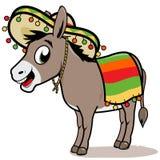 Mexicansk åsna stock illustrationer
