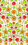 Mexicansk blom- modell vektor illustrationer