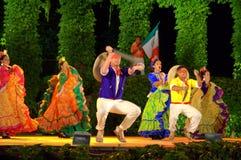 Mexicansk dansshow Royaltyfria Bilder