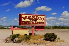 Mexicansk försäkring Arkivfoton