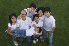 Mexicansk familj arkivfoto