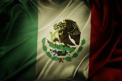 Mexicansk flagga Fotografering för Bildbyråer