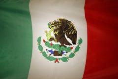 Mexicansk flagga Arkivbild