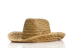 Mexicansk hatt på vit bakgrund Royaltyfri Bild