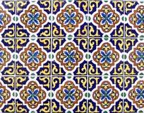 Mexicansk keramisk tegelplatta Arkivfoto