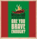 Mexicansk mat Royaltyfri Bild