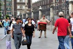 Mexicansk musikask Fotografering för Bildbyråer