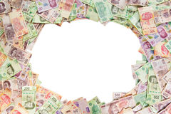 Mexicansk pengarbakgrund Arkivfoto