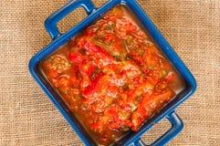 Mexicansk röd salsa Arkivfoto