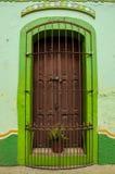 Mexicansk stad Fotografering för Bildbyråer