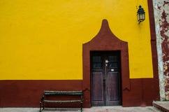 Mexicansk stad Royaltyfria Foton