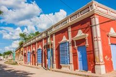 Mexicansk stad Royaltyfri Fotografi