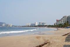 Mexicansk strand Fotografering för Bildbyråer