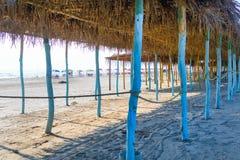 Mexicansk strandplats fotografering för bildbyråer