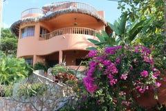 Mexicansk villa Arkivbild