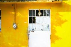 Mexicanska arkitekturdetaljer Arkivfoto