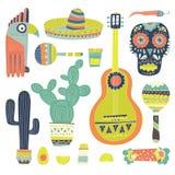 Mexicanska beståndsdelar Royaltyfri Bild
