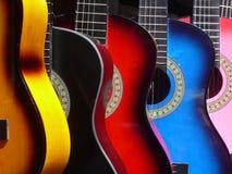Mexicanska musikaliska gitarrer Arkivbild
