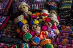 Mexicanska otomidockor, huvudbindel, hairband Arkivfoto