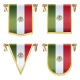 Mexicanska standerter Royaltyfria Foton