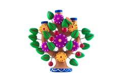 Mexicanskt hantverkträd av liv Arkivbild