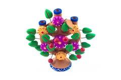 Mexicanskt hantverkträd av liv Arkivfoto