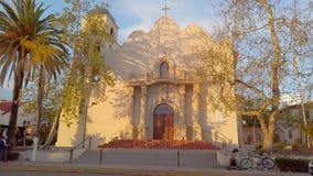 Mexicanskt område på San Diego Old Town - SAN DIEGO, USA - APRIL 1, 2019 arkivfilmer