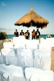Mexico. Mexican musical band at a wedding Stock Images