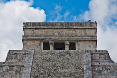 Mexico. Chichen Itza The main pyramid El Castillo is also called Temple of Kukulcan. The Maya name Chich'en Itza means At the mouth of the well of the Itza Stock Photos