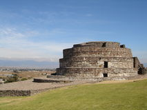 Mexico. Ancient Aztec pyramid near Toluca in Mexico Royalty Free Stock Photography