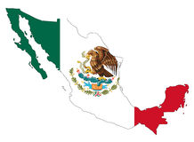 Mexico stock illustratie