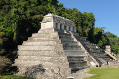 Palenque Maya ruins in Mexico Royalty Free Stock Image