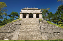 Palenque Maya ruins in Mexico Royalty Free Stock Photos