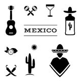 Mexico background Stock Photography