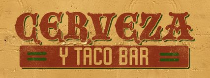 Free Mexico Bar Sign Royalty Free Stock Photography - 130123567