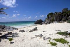 Mexico beach Royalty Free Stock Photos