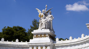 Mexico Benito Juarez monument Royalty Free Stock Images