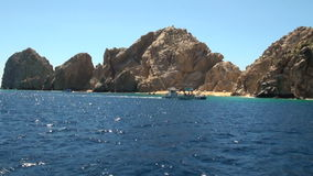 Mexico - Cabo San Lucas - El Arco de Cabo San Lucas Royalty Free Stock Photo
