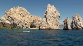 Mexico - Cabo San Lucas - El Arco de Cabo San Lucas stock footage