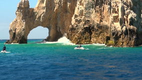 Mexico - Cabo San Lucas - El Arco de Cabo San Lucas stock video footage