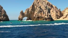 Mexico - Cabo San Lucas - El Arco de Cabo San Lucas stock video footage