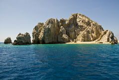 Mexico - Cabo San Lucas - Rocks And Beaches Royalty Free Stock Photo