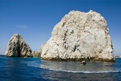 Mexico - Cabo San Lucas - Rocks And Beaches Stock Image