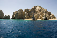 Mexico - Cabo San Lucas - Rocks And Beaches Stock Photography