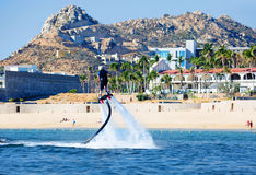 mexico Cabo San Lucas Wateractiviteiten stock fotografie