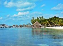 Mexico Cancun beach Stock Photo