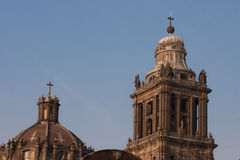 Mexico cathedral dome. In mexico in america Royalty Free Stock Photo