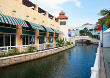 Mexico. The channel at tourist center. Royalty Free Stock Photos