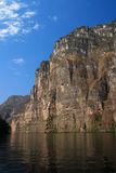 Mexico Chiapas Sumidero kanjon royaltyfria bilder